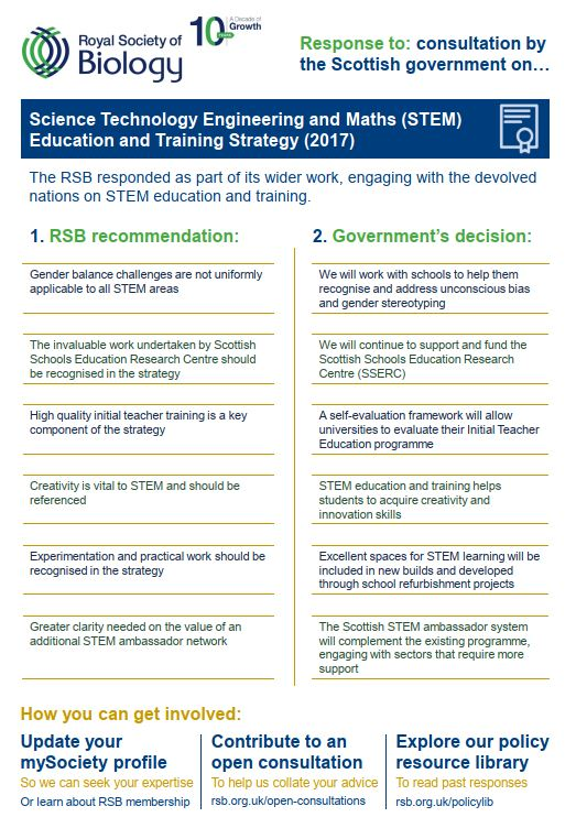 Policy Case Study Stem Strategy